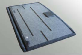 PP/纸蜂窝备胎盖板用173.cc